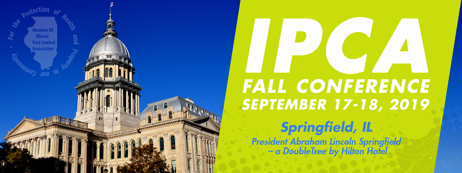 IPCA Fall 2019 Conference Banner